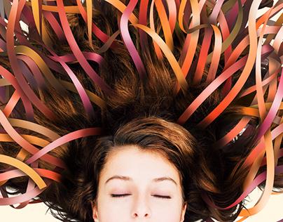 Stripe hair