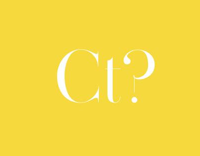 Comté - Typeface