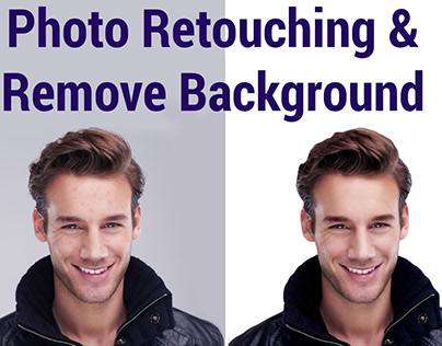 Photo editing-resize-background remove and Retouching