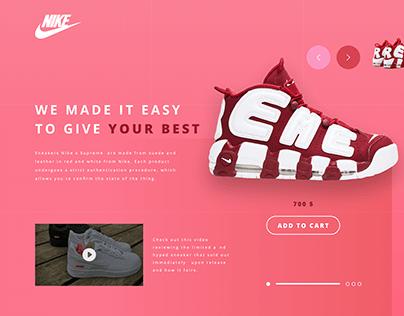 Nike — Fashion Store, Cloth Shop