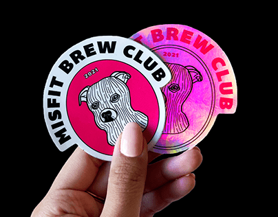 MISFIT BREW CLUB | Brand Identity