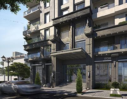 Royal Residence ( Elevation Design )