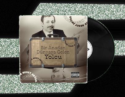 Neşet Ertaş Vinyl Record Cover Redesign Vol.6
