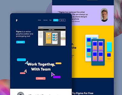 Figma Web Design Recreation
