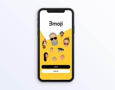 Illustrations of faces for Bmoji App