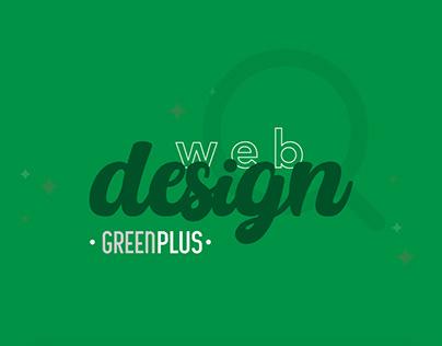 Web Design Green Plus