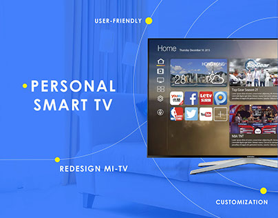 Smart Tv - User interface and experience design