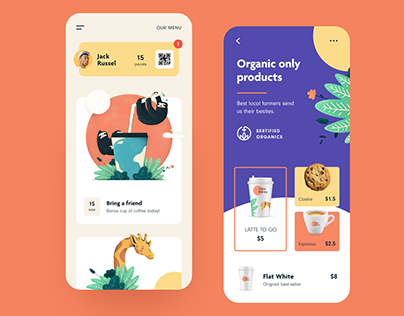 Coffeshop App Design