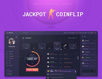 Jackpot&Coinflip - CSGO gambling website