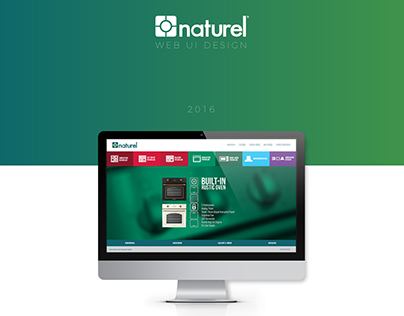 Naturel Ocak Web UI Design