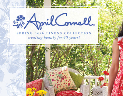 April Cornell Wholesale Spring 2016 Linens Catalog