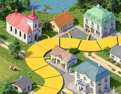 Česká pošta - Board game