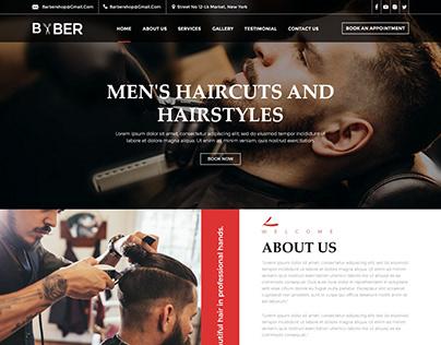 Saloon Web Design