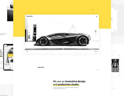 Ramp Studio - Web design