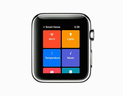 Interaction Concept for Smart Watch