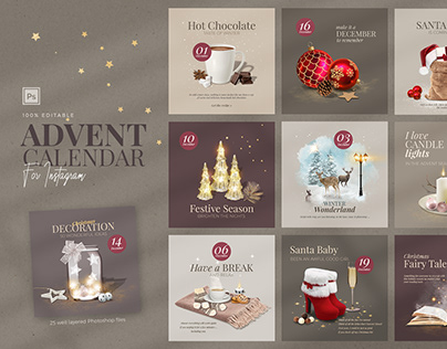 Advent Calendar for Instagram