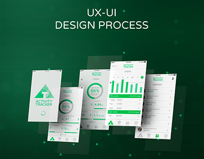 ACTIVITY TRACKER UX-UI DESIGN PROCESS