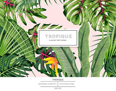 Tropique, Luxurious Vector tropical Pattern!