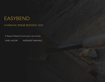 EASYBEND - A Manual Rebar Bender Skid