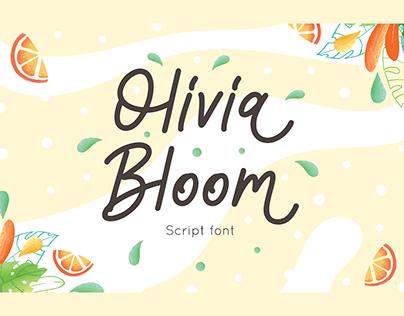 Olivia Bloom – Summer Font