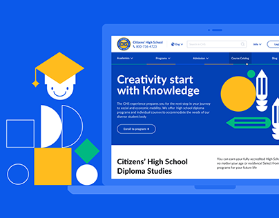 CHS — High School Website