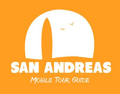 """SAN ANDREAS: Mobile Tour Guide"" App"