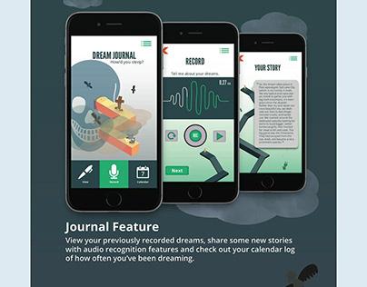 Dreamland: UX/UI Design + Book Design + Advertising