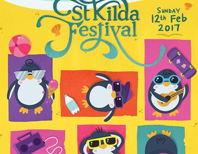 St Kilda Festival Poster
