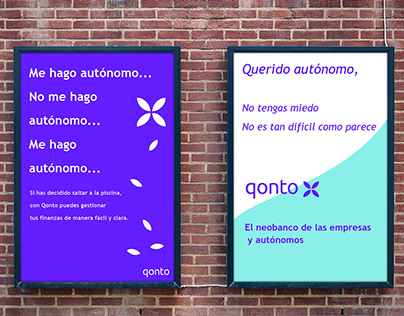 Copywriting and Content Management Project for Qonto