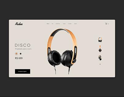 Kuba Disco (UI design challenge)