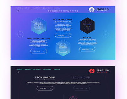 Imagina [Web Design]