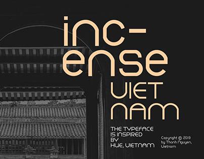 INCENSE VIETNAM TYPEFACE DESIGN