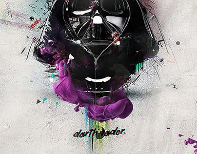 "Vader ""Print"" Art"