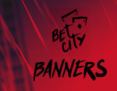BET CITY - Bannners