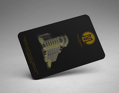 Keycard lock On Art Deco Style