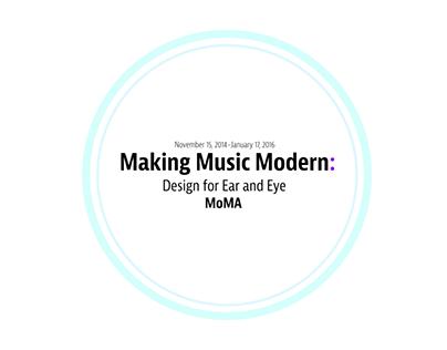Making Music Modern