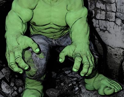 Hulk Pin-up