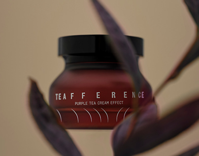 teafference cosmetic line brand design