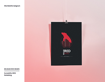 Belgian Red Bears | Logo