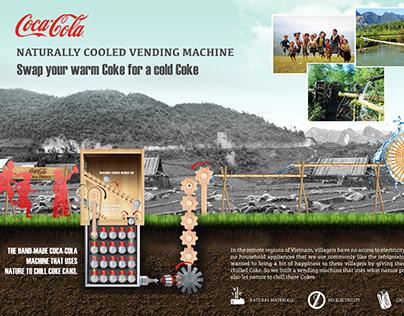 Coca-Cola Cooled Vending Machine
