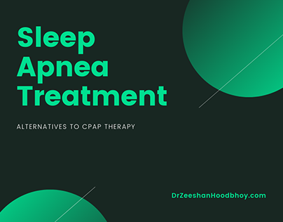 Sleep Apnea Treatment Alternatives to CPAP Therapy
