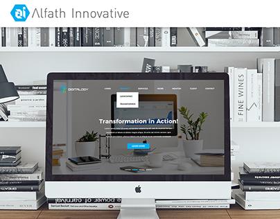 Digitalogy's Company Profile Website