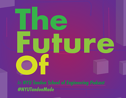 Podcast Cover Art: The Future Of