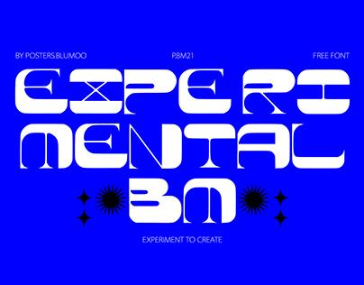 Experimental BM // FREE FONT