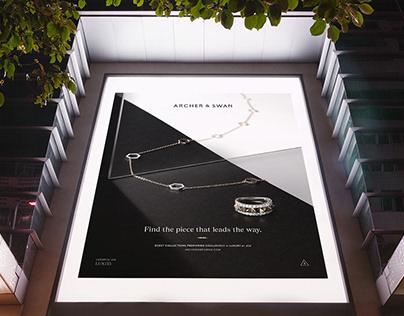 Archer & Swan Jewelry Branding, Photography, & Website