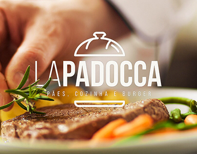 🍔 LaPadocca Visual Identity