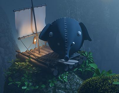 Olli character adventure