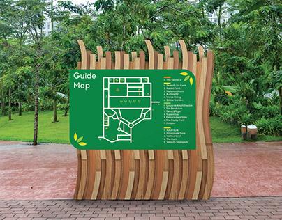 Scientia Square Park Signage