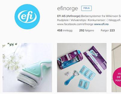 SoMe / Instagram profiles