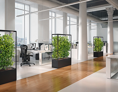 Lasfera Cube Planted Office